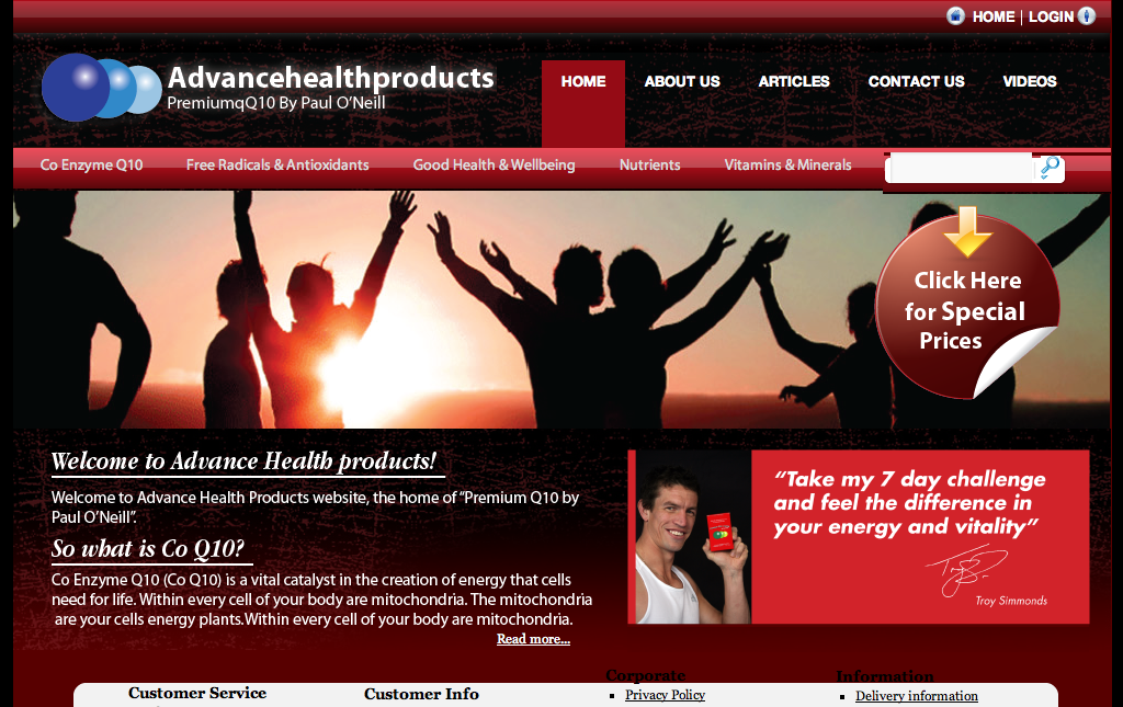 Advance Health Products
