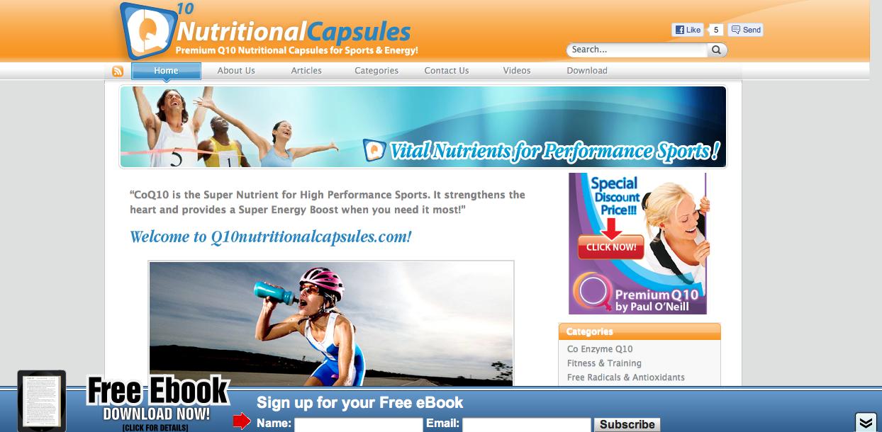 Q10 Nutritional Capsules